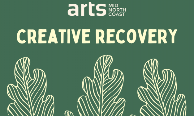 Take Part in Arts Mid North Coast's Creative Recovery Training Program