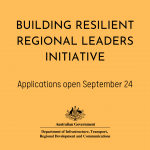 The Building Resilient Regional Leaders Initiative (Pilot) is coming soon!