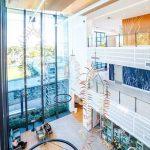 River-Tree-Plain permanent installation at Dubbo Hospital
