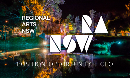 Applications welcome   Regional Arts NSW CEO